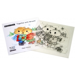 Hamilton Hamster - Together with Wreath Stamp